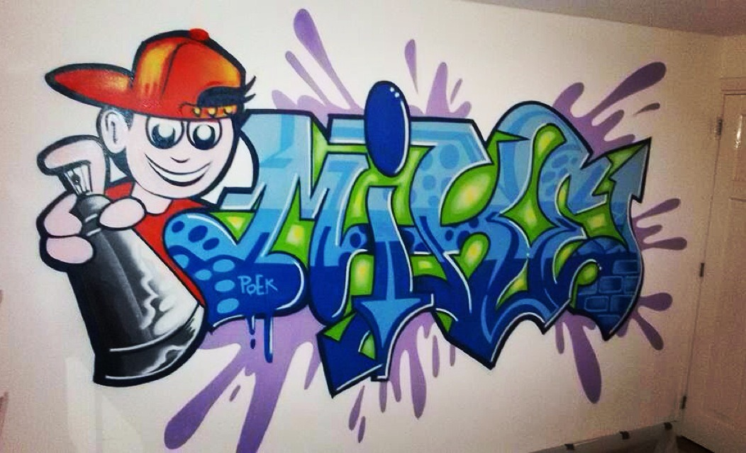 Mr. Graffiti: Slaapkamer Mike - Mr. Graffiti
