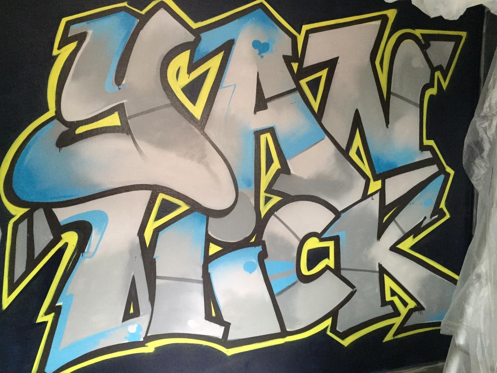 Mr. Graffiti: Slaapkamer Yannick - Mr. Graffiti