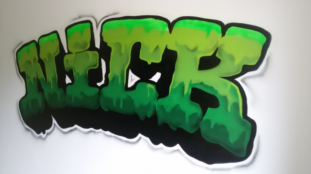 Graffiti Voor Slaapkamer : Mr graffiti slaapkamer nick mr graffiti