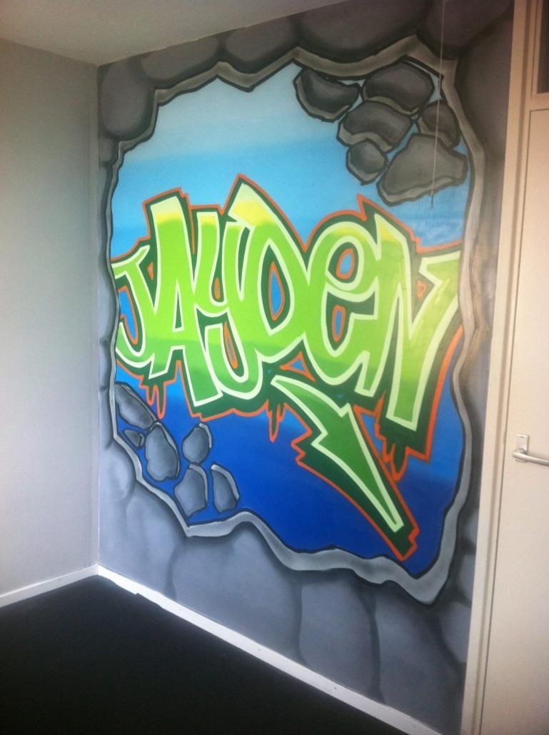 Mr. Graffiti: Slaapkamer Jayden - Mr. Graffiti