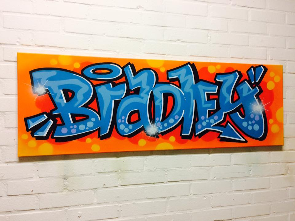 Mr. Graffiti: Doek Bradley - Mr. Graffiti