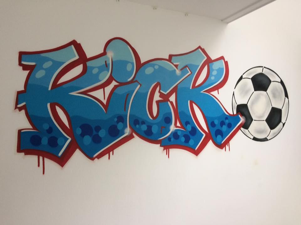 Mr. Graffiti: Slaapkamer van Kick - Mr. Graffiti