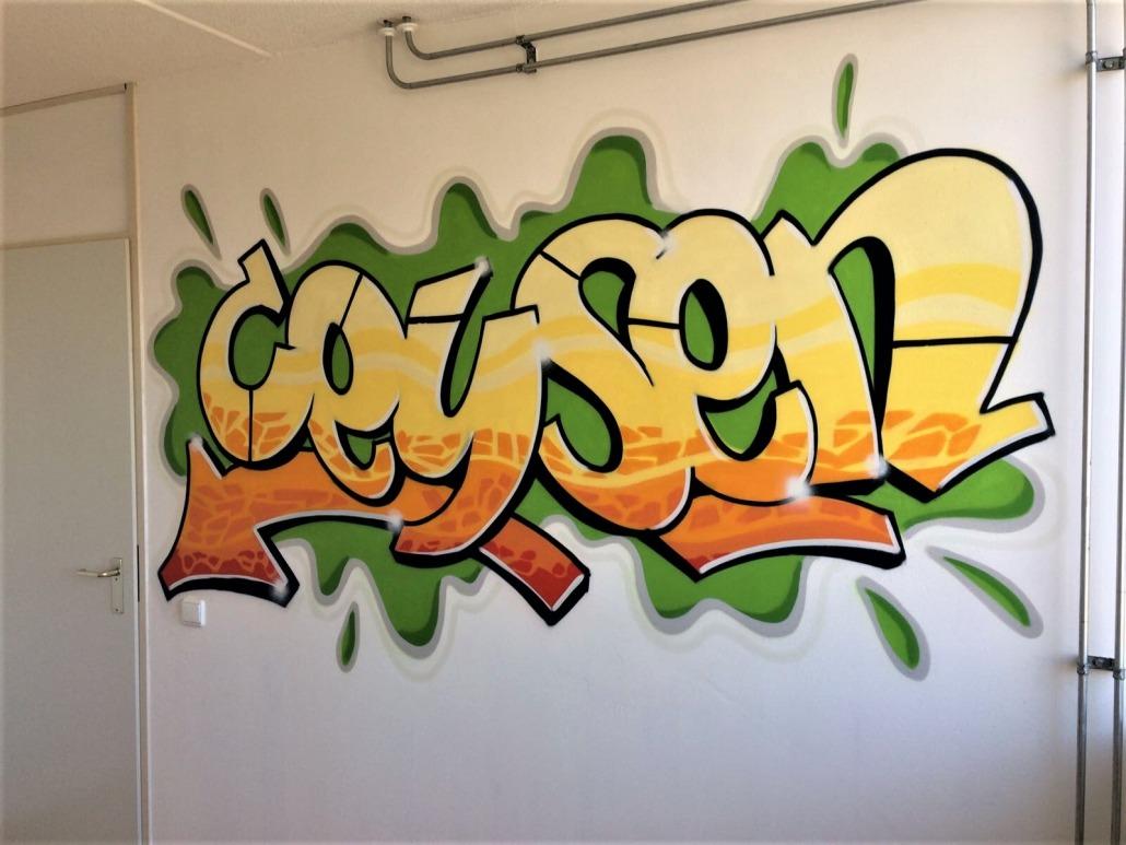Mr. Graffiti: Slaapkamer Ceysen - Mr. Graffiti
