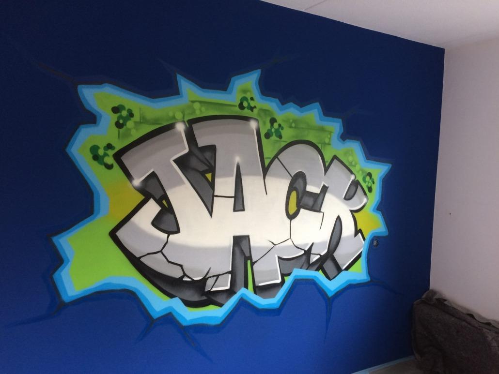 Mr. Graffiti: Slaapkamer Jack - Mr. Graffiti