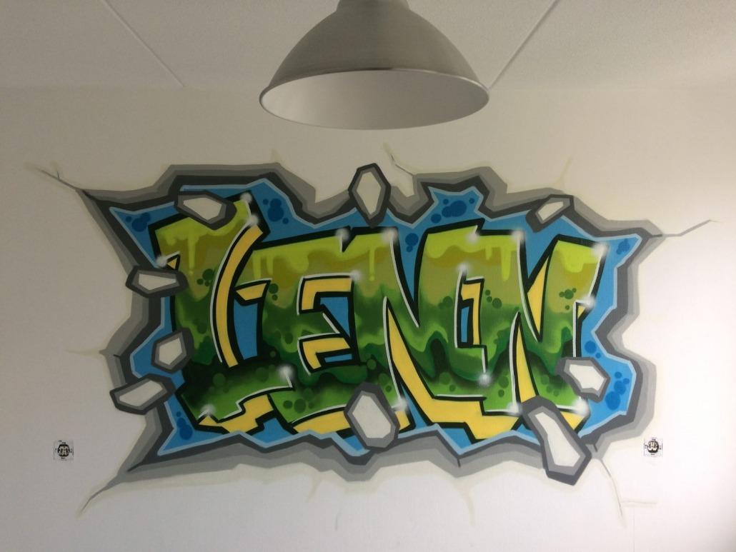 Mr. Graffiti: Slaapkamer Lenn - Mr. Graffiti